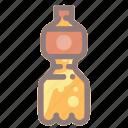 beverage, bottle, drink, orange, soda, soft drink icon