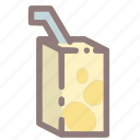 beverage, drink, healthy, milk, soy, soya, soya milk icon