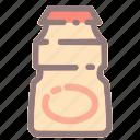 drink, drinkbeverage, healthy, yogurt, yogurt drink icon