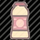 beverage, drink, healthy, milk, yogurt, yogurt drink icon