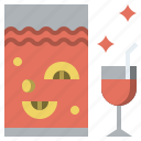 alcohol, alcoholic, bowl, drink, drinks, punch icon