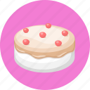 birthday, bread, cake, food icon
