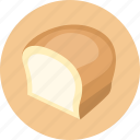 bread, food, kitchen icon