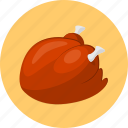 chicken, food, meat icon