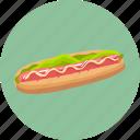 bread, food, hot dog icon