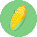 food, maize, vegetables icon