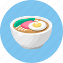 dessert, food, noodles icon