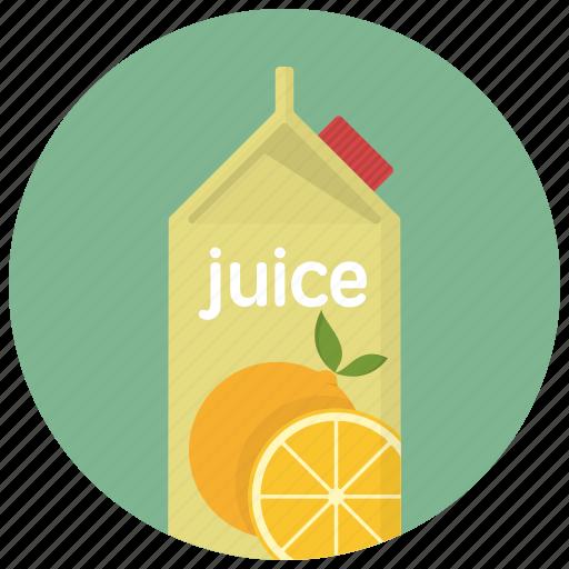 beverage, carton, drink, drinks, juice, juice bottle, orange icon