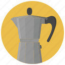 beverage, cafe, coffee, coffee maker, coffee pot, drink, hot drink icon