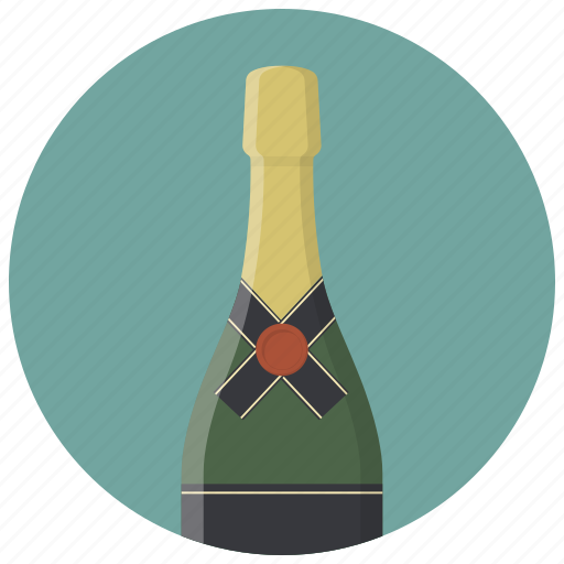 alcohol, bottle, champagne, drink, drinks icon