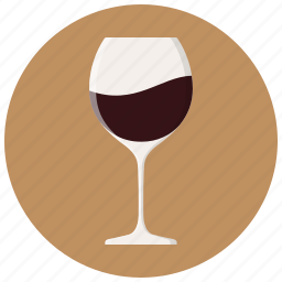 alcohol, drink, glass, red wine, wine, wine glass, wineglass icon