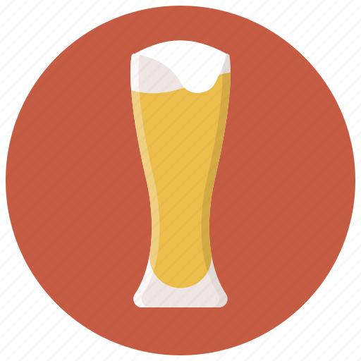 alcohol, bar, beer, beer glass, drink, glass, glass of beer icon