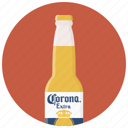 alcohol, bar, beer, bottle, bottle of beer, drink, drinks icon