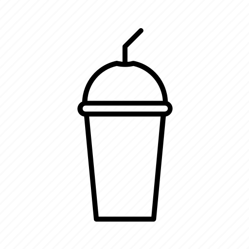 cold, drink, ice, milk, milkshake, shake, smoothie icon