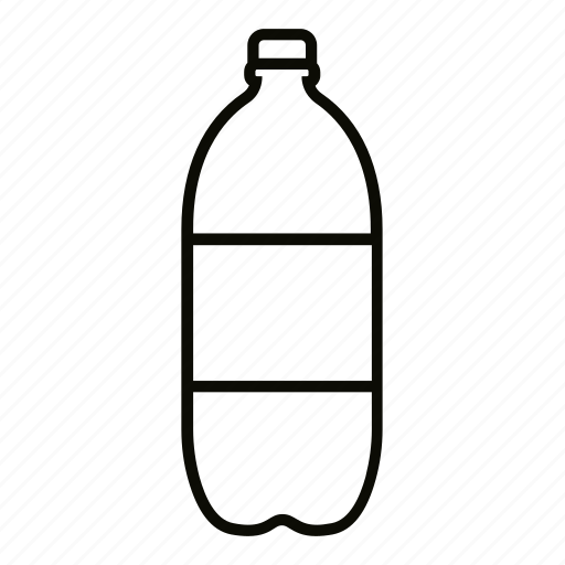 big, bottle, cap, drink, plastic, soda, sparkling icon