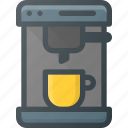 coffee, drink, drinks, espresso, maker icon