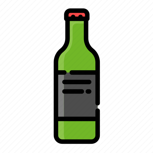 alcohol, beer, beverage, bottle, drink, water icon