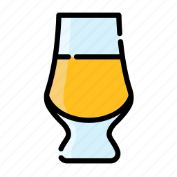 alcohol, beverage, bottle, drink, glass, water icon