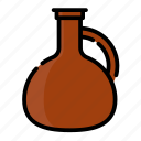 beverage, bottle, drink, jug, water icon
