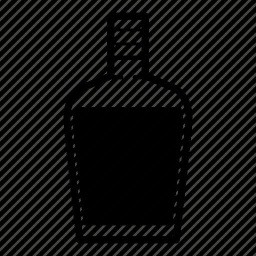 beverage, brandy, liquor, liquor bottle, rum, tequila, whiskey icon