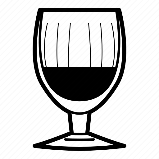 alcoholic drink, cocktail, gin, red wine, white wine, wine, wine glass icon