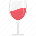 glass, drink, alcohol, cocktail, wine icon