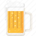 bar, alcohol, drink, pab, beer, beer glass icon