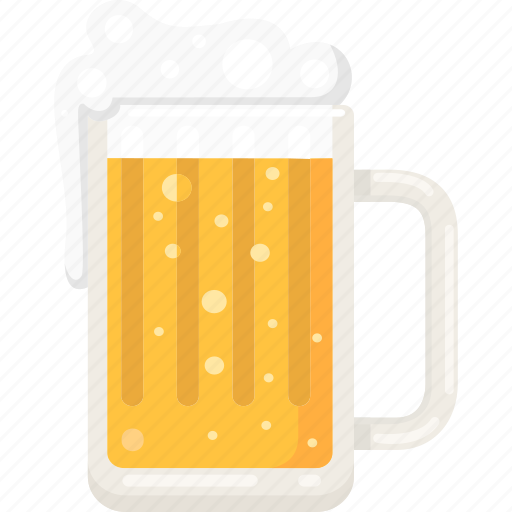 alcohol, bar, beer, beer glass, drink, pab icon