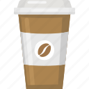 coffee, cafe, hot coffee, drink, cup icon