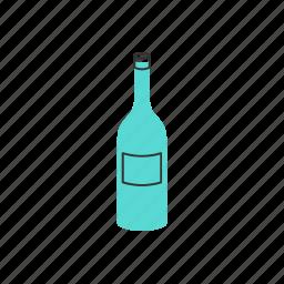 alcohol, bottle, celebration, champagne, drink, glass, wine icon