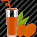 apricot, drinks, fruit, glass, juice