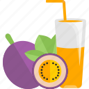 drinks, fruit, juice, plum icon