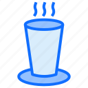 milk, water, glass, drink, hot