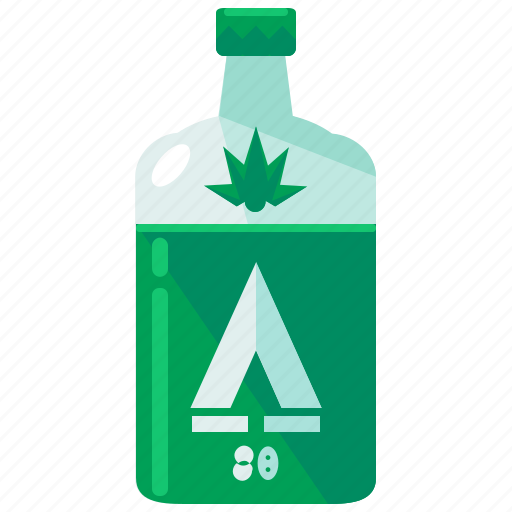 alcohol, beverage, bottle, drink, glass icon
