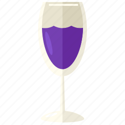 alcohol, beverage, champagne, drink, glass, wine icon