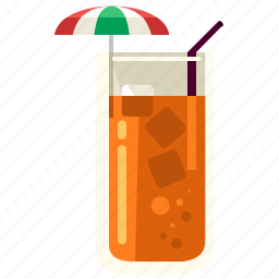 alcohol, beverage, cocktail, drink, glass, ice, tea icon