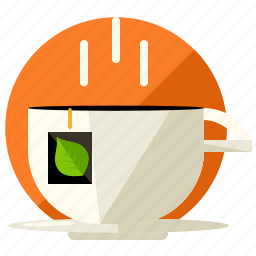 beverage, cup, drink, hot, mug, tea icon