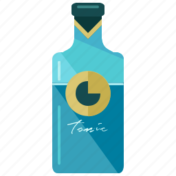 alcohol, beverage, bottle, drink, tonic icon