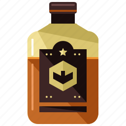 alcohol, beverage, bottle, drink, whiskey, whisky icon