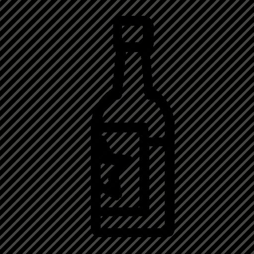 alcohol, beverage, bottle icon