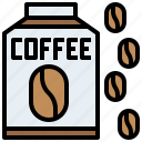 beans, chocolate, coffee, cup, drink, food, hot, mug, restaurant, tea icon