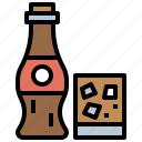 bottle, cola, drink, food, healthy, hydratation, restaurant icon