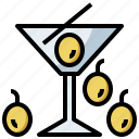 bottle, drink, food, healthy, hydratation, martini, restaurant, water icon