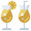 bottle, drink, food, healthy, hydratation, juice, restaurant, water icon
