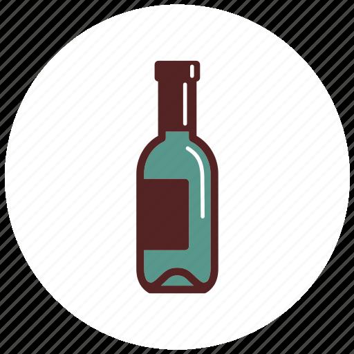 bottle, drinks, wine icon