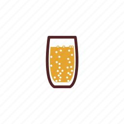 carbonated, drinks, glass, sparkling, water icon