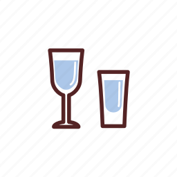 alcohol, drinks, glass, vodka icon