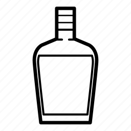 beverage, brandy, liquor, liquor bottle, rum, tequila, whiskey icon