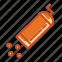 coffee, grinder, ground, hand, rough, size icon