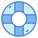 float, life, preserver, ring, rubber, sefety icon